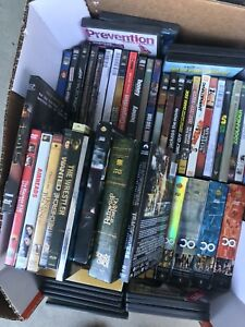 DVD's and books