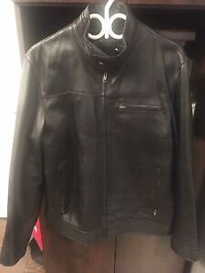 America Leather Jacket men's size Medium