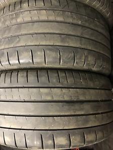 2 pneus d'été 245/40/17 michelin pilot super sport