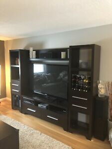 Tv entertainment unit  also matching coffee and side table