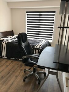 Bed, desk & chair for sale