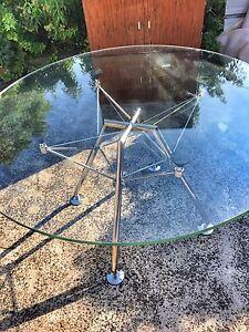 Glass top dining table Balmain Leichhardt Area Preview