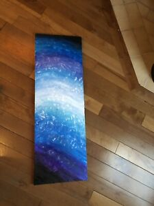 Acrylic galaxy painting