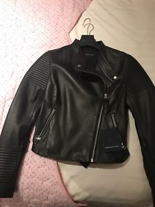 BRAND NEW WOMENS MACKAGE LEATHER JACKET