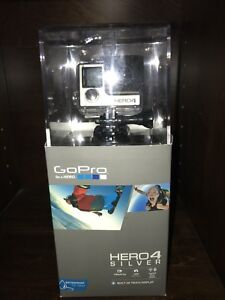 GoPro Hero 4 Silver w mounts