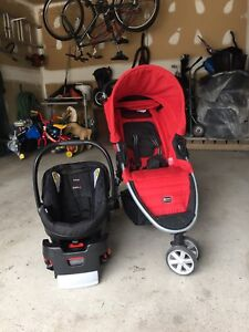 For sale Britax stroller and car seat