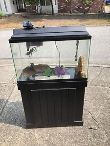 Whole set fish tank with stand
