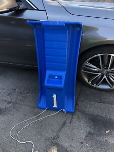 Plastic sled - priced to sell quick - toboggan