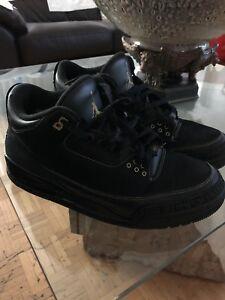 Jordan 3 Black History Month Size 12