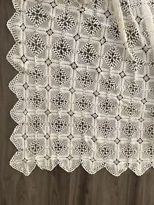 Beautiful handmade crochet blanket