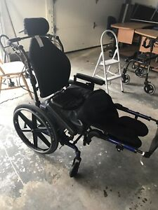 Wheelchairs, walker, 3 powered assist lazyboys