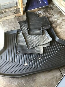 Honda Civic fitted floor and trunk mats
