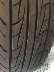 Two all season tires