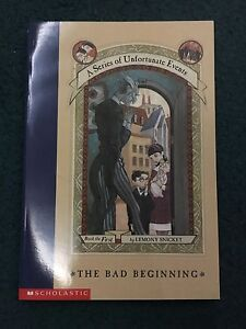 A Series of Unfortunate Events (complete set) $50