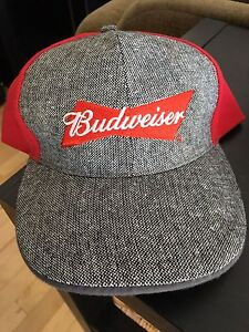 Budweiser snap back ball cap hat