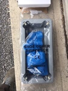 Shoe cover dispensers and refills