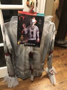 Brand new it pennywise the clown Halloween costume