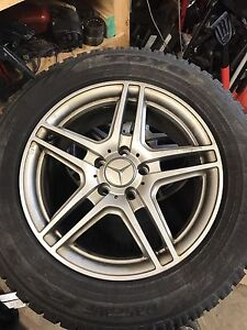 Mercedes GLK winter tires and rims