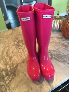 Hunter boots ladies size 7