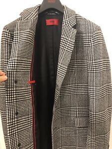Beautiful Brand New High End Red Hugo Boss Coat.
