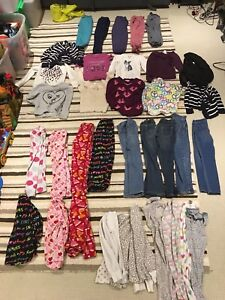 Girls 6-7 clothes lot -35 pieces