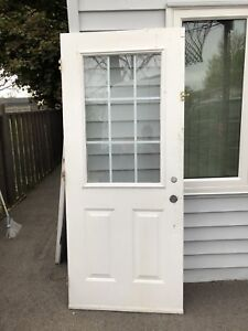Two front doors for sale