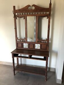 Antique hall table and dining table