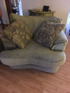 Sofa and chair $150