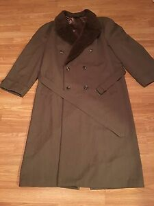 Harry Rosen Double Breasted Wool Coat