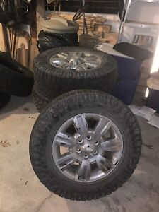 F-150 18' rims and tires