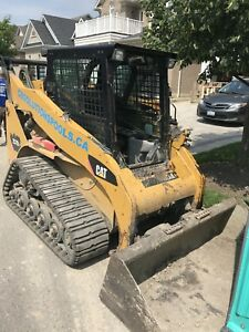 2008 cat skid steer