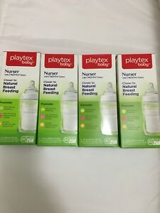 Playtex bottles with drop-in liners