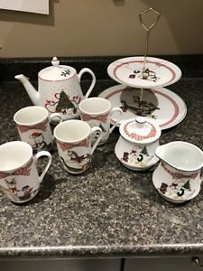 Christmas Serving Set