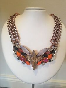 House Of Emmanuele Swarovski crystal necklace Maroubra Eastern Suburbs Preview