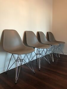 Structube Grey Dining Chairs