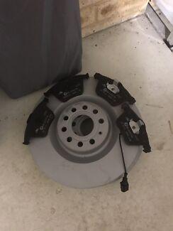ATE Front Ceramic Brake Pads & Rotors Vw Golf MK6 R