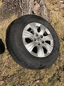Michelin defenders (set of 4) with Honda Alloys 235-65-16