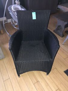 Brand new wicker chair
