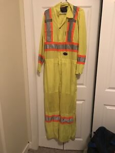 Large flagging coveralls