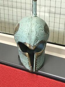 Spartan cast iron helmet