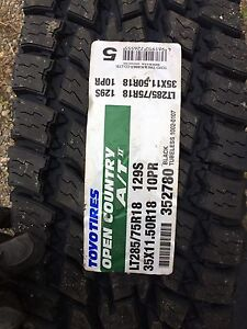 LT 285 75 r18 Toyo AT Extreme.  35 X11.5 r18