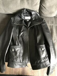 Veste de cuir Michael Kors médium impeccable