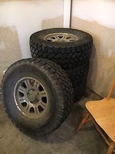 315/70/17 Pro Comp Xtreme A/T tires