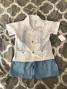 Boys 2 Piece Summer Outfit