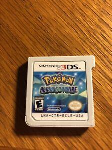 Nintendo Pokémon Alpha Sapphire 3DS