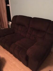 Couch chair and love seat all recliners SET