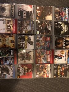Ps3 games 10 for  50$