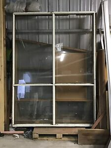 Solid timber window frame