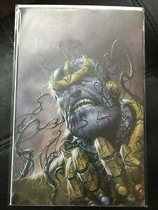 MARVEL COMICS VENOMIZED THANOS #1 VIRGIN VARIANT