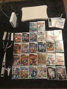 Nintendo Wii original with 28 games
